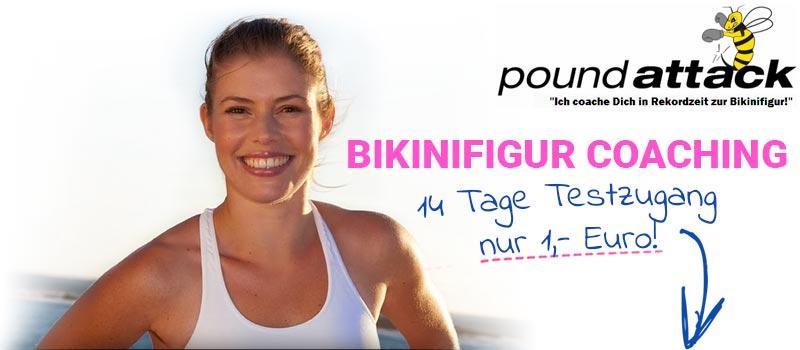 poundattak Bikinifigur Coaching mit Karla