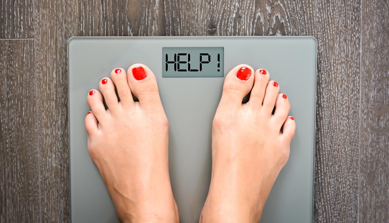 Trotz Diät Zunahme
